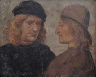 Self-portrait of Luca Signorelli (left) — Лука Синьорелли