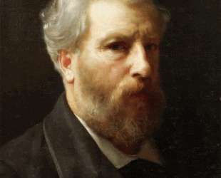 Self-Portrait Presented To M. Sage — Вильям Адольф Бугро