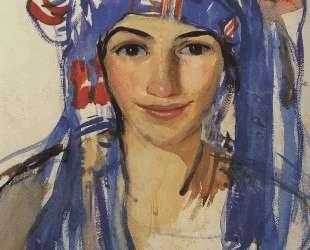 Автопортрет в шарфе — Зинаида Серебрякова