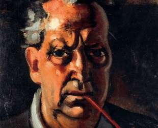 Self-portrait with a pipe — Андре Дерен