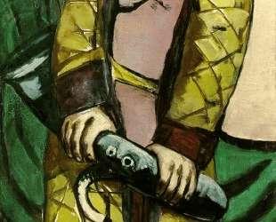 Self-Portrait with a Saxophone — Макс Бекман