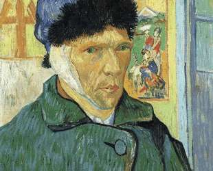 Self Portrait with Bandaged Ear — Винсент Ван Гог