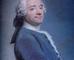 Self-Portrait with frill — Морис Кантен де Латур