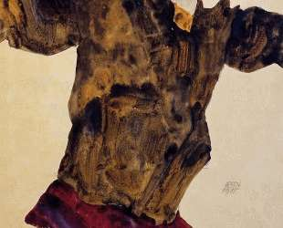 Self Portrait with Outstretched Arms — Эгон Шиле