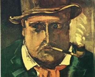 Self Portrait With Pipe — Морис де Вламинк