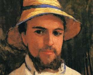 Self-Portrait with Pith Helmet — Гюстав Кайботт