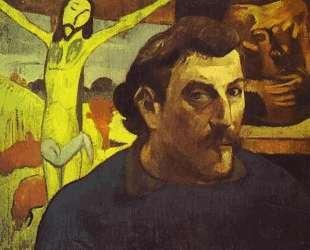 Автопортрет с желтым Христом — Поль Гоген