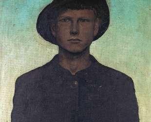 Self-Portrait with Wanderhut — Отто Дикс