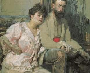 Self-Portrait with Wife — Франтишек Купка