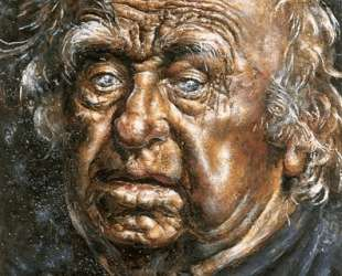 Self Portrait Face — Айвен Олбрайт