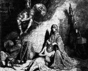 Семирамида — Гюстав Доре