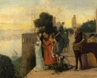 Семирамида строит город — Эдгар Дега