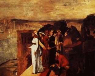 Семирамида строит Вавилон — Эдгар Дега