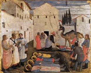 Погребение святых Космы и Дамиана — Фра Анджелико