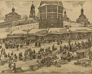 Sergiyev Posad. Under The Red Tower — Константин Юон