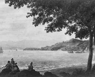 Shad Fishermen on the Shore of the Hudson River — Павел Свиньин