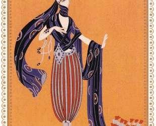 Sheerazade, Calyph's Concubine — Эрте