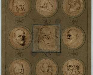 Этюдный лист — Антонис ван Дейк