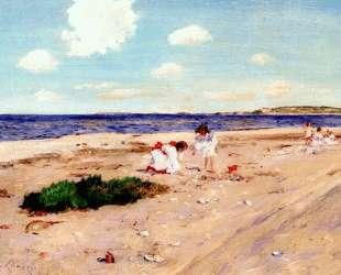 Shell Beach at Shinnecock — Уильям Меррит Чейз
