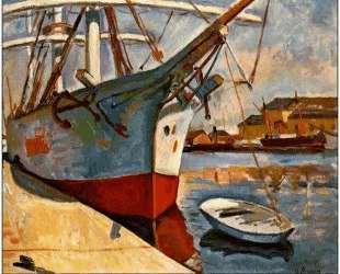 Корабль в Гавре — Жорж Брак