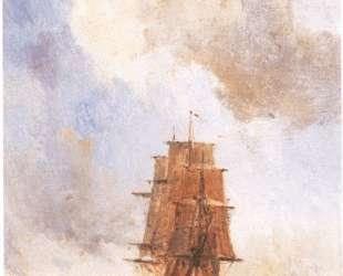 Корабль — Давид Бурлюк
