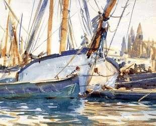 Shipping, Majorca — Джон Сингер Сарджент