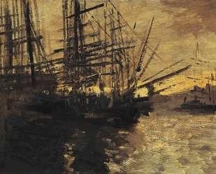 Корабли. Марсель — Константин Коровин