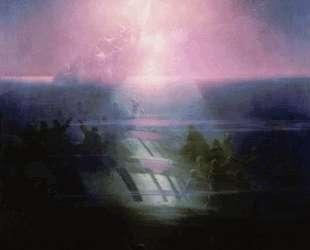 Гибель корабля Лефорт. Аллегорическое изображение — Иван Айвазовский