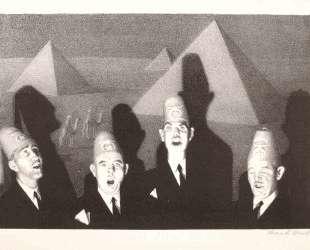 Shrine Quartet — Грант Вуд