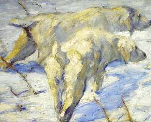 Siberian Sheepdogs — Франц Марк