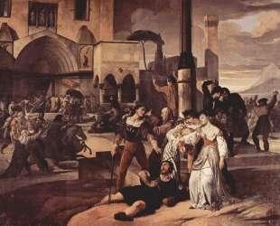 Sicilian evenings painting series, Scene 1 — Франческо Хайес