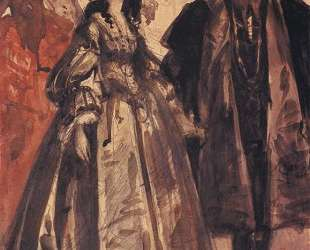 Sigmund and Barbara — Ян Матейко