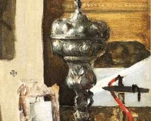 Silver Chalice, Japanese Bronze and Red Tapir — Джулиан Олден Вейр