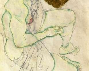 Sitting Woman — Эгон Шиле