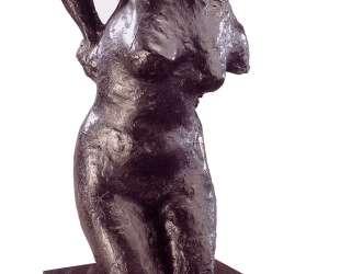 Сидящая женщина вытирается — Эдгар Дега