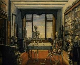 Скелеты в кабинете — Поль Дельво
