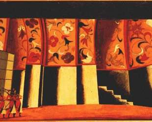Sketch for stage set, Glinka's Ivan Susanin — Владимир Татлин