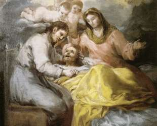 Sketch for The Death of Saint Joseph — Франсиско де Гойя