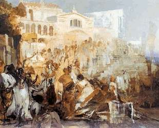 Sketch for the 'Torch of Nero' — Генрих Семирадский