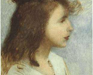 Sketch of a Young Girl — Анри Мартен