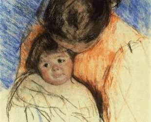 Эскиз для «Мать смотрит на Томаса» — Мэри Кассат