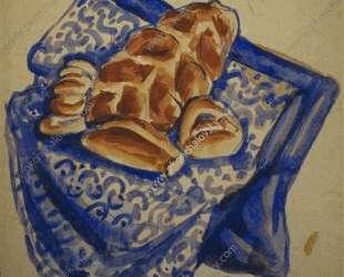 Эскиз натюрморта с хлебами — Пётр Кончаловский