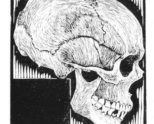 Skull — Мауриц Корнелис Эшер