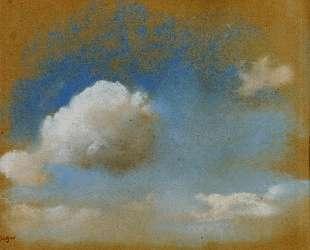 Небесный пейзаж — Эдгар Дега