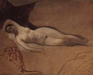 Спящая Юнона — Карл Брюллов