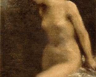 Small Brunette Bather — Анри Фантен-Латур