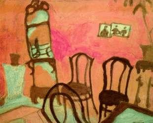 Маленькая гостинная — Марк Шагал
