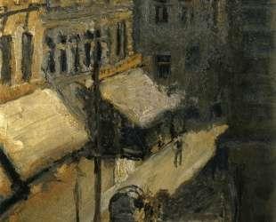 Small street (Nu? dorferstra? e) — Рихард Герстль