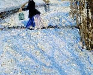 Snow in March — Игорь Грабарь