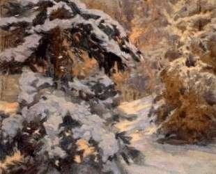 Snow in the Night — Николай Богданов-Бельский
